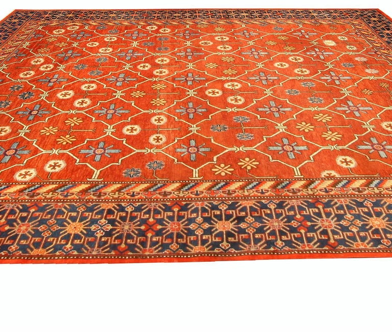 Hand-Knotted Samarkand 'Khotan' Rug For Sale