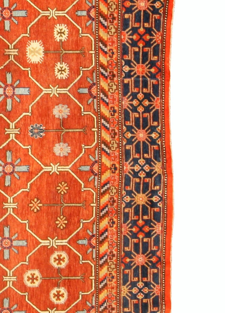 Wool Samarkand 'Khotan' Rug For Sale