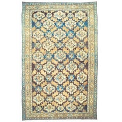 Oversized Antique Persian Bakhtiari Rug