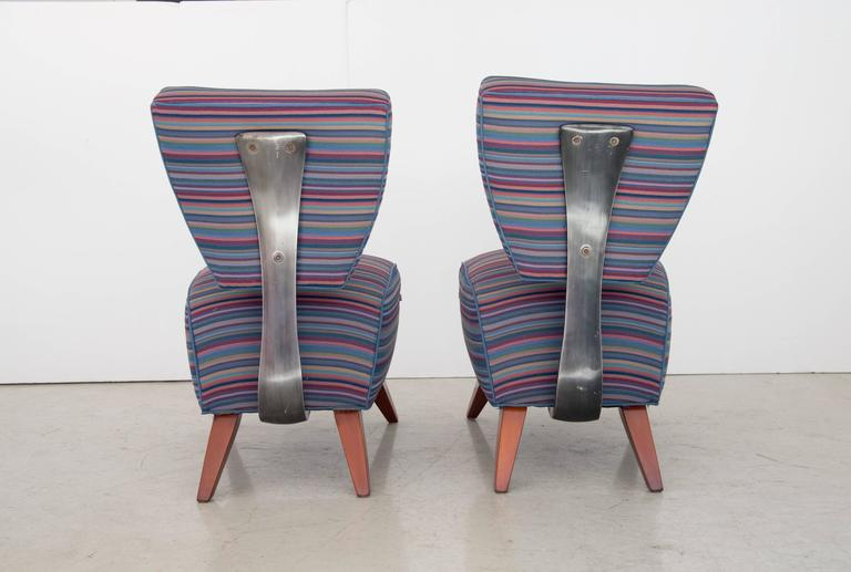 "Jordan Mozer Studios Barney's ""Fred's"" Dining Chairs 2"