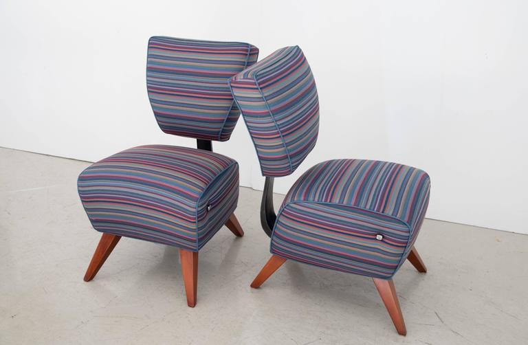"Jordan Mozer Studios Barney's ""Fred's"" Dining Chairs 3"
