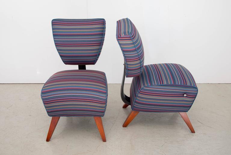 "Jordan Mozer Studios Barney's ""Fred's"" Dining Chairs 5"