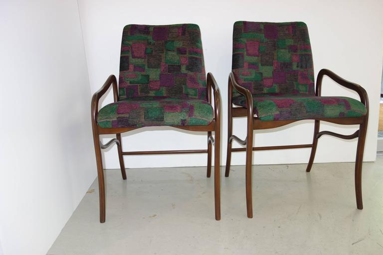 Enrico Ciuti Set of Six Dining Chairs 7