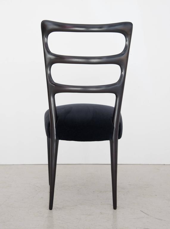 Paolo Buffa Set of Six Wood Dining Chairs 3