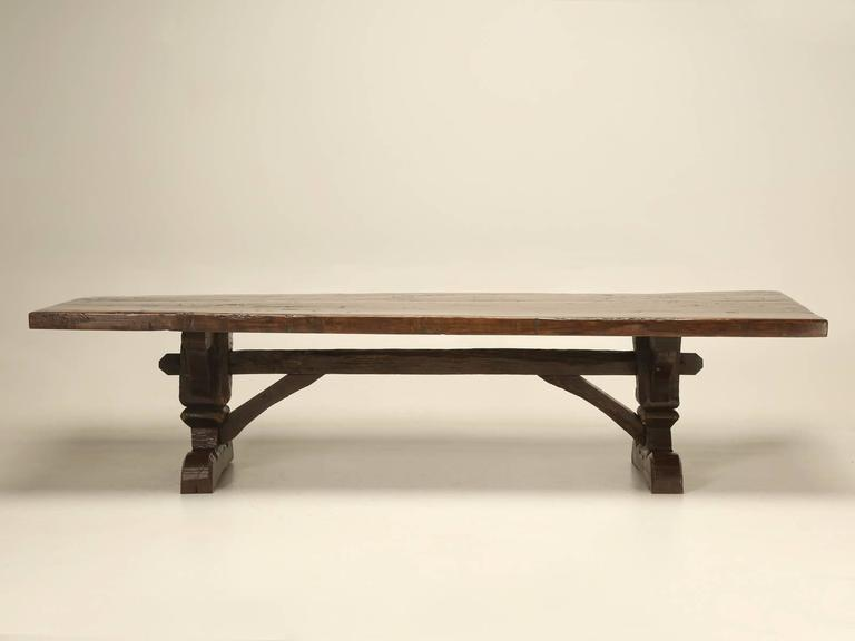 Antique Country French Trestle Table At 1stdibs