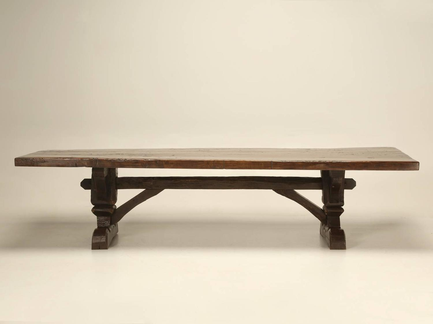 Antique Country French Trestle Table For Sale At 1stdibs
