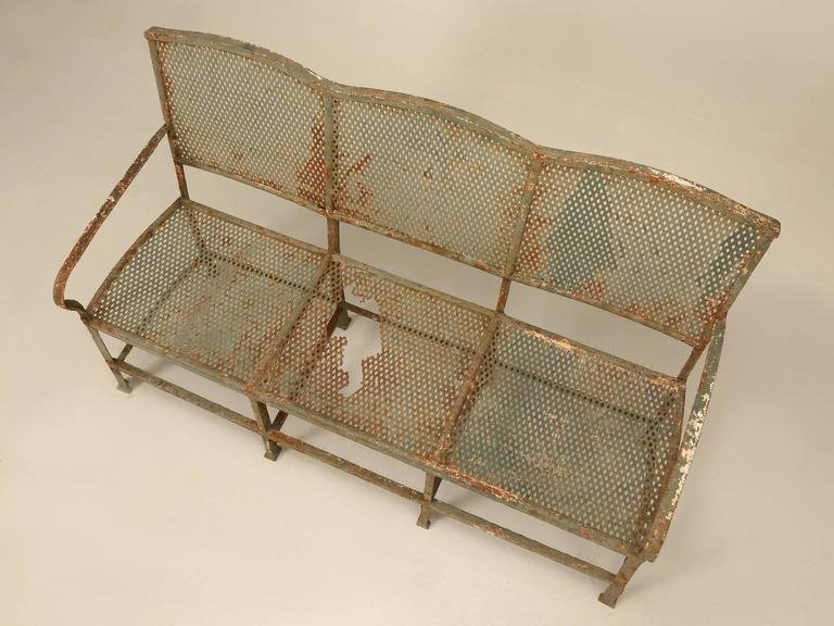 Antique French Garden Bench For Sale 1
