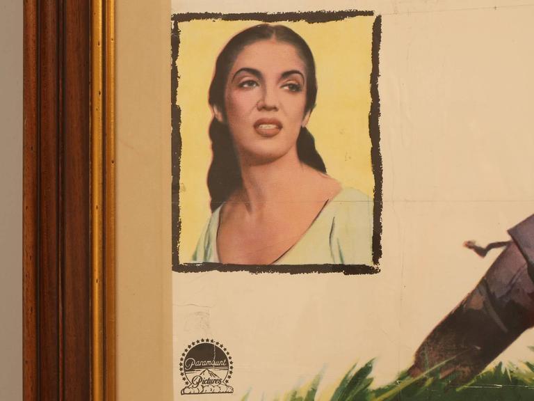 Movie Poster of Arrowhead Staring Charlton Heston, circa 1953 For Sale 3