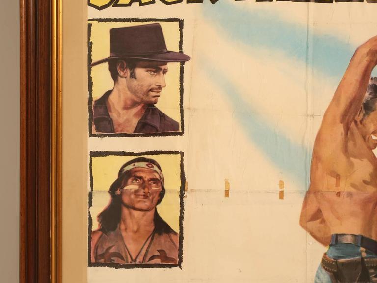 Movie Poster of Arrowhead Staring Charlton Heston, circa 1953 For Sale 2