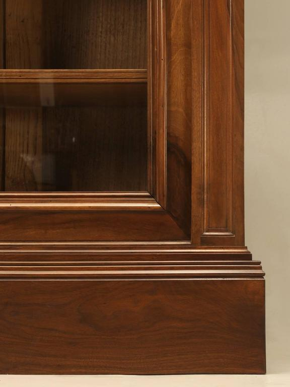 Antique French Walnut Bookcase or Bibliotheque 9