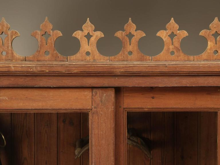 Country French Tack Cabinet or Potential Bookcase For Sale