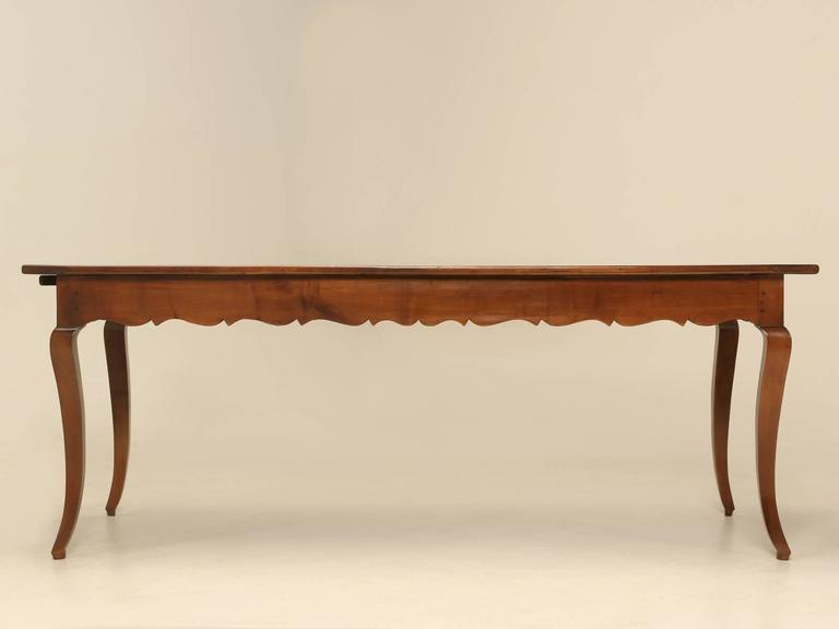 Late 19th Century Antique French Dining Table For Sale