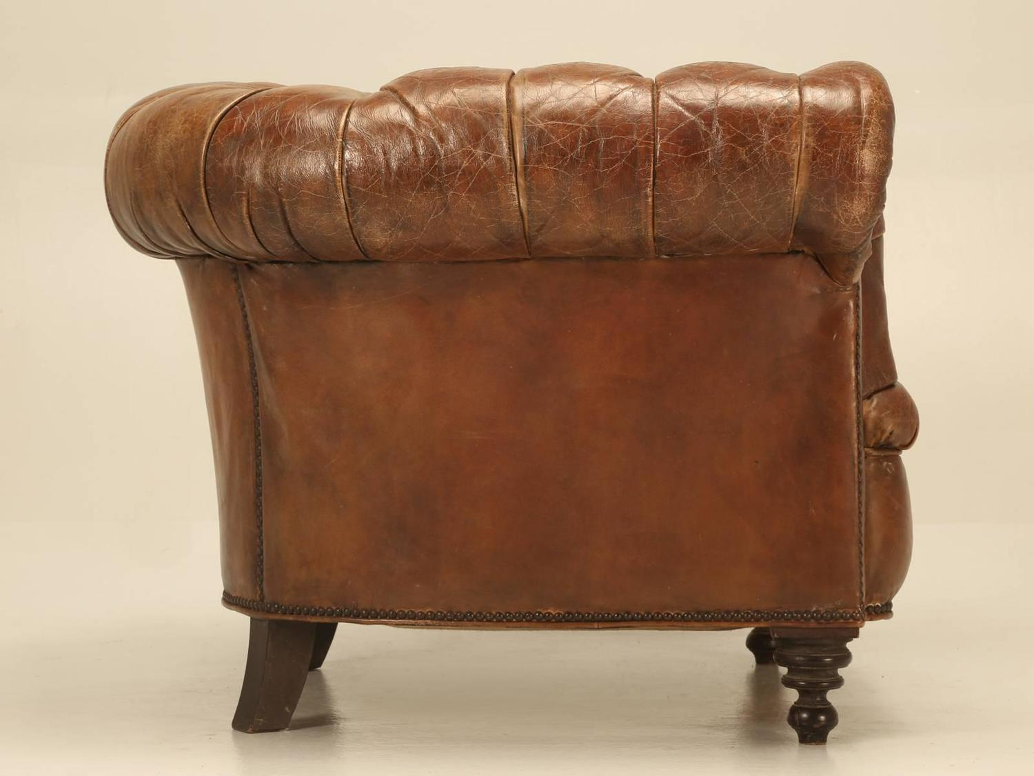 Vintage Chesterfield Sofa For Sale Vintage Leather