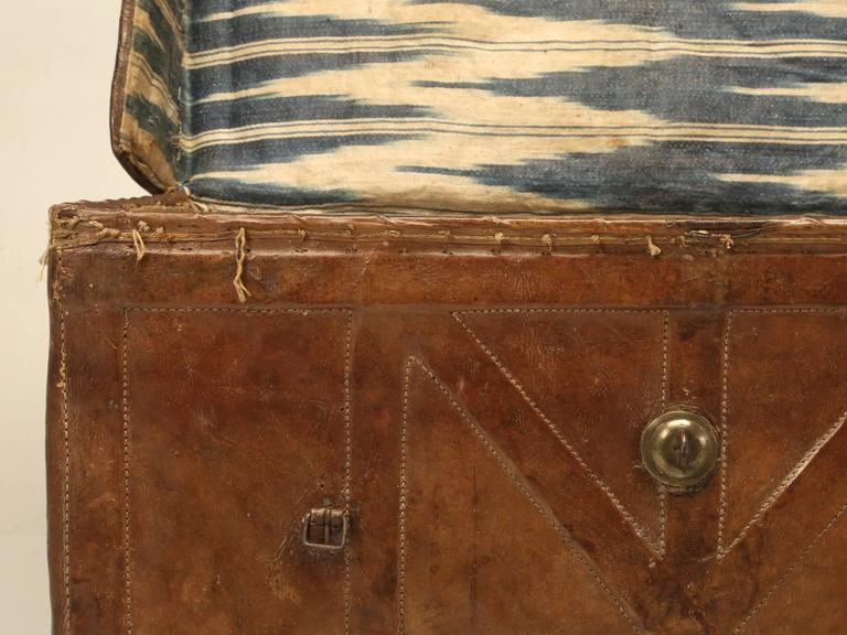Antique Leather Trunk 5