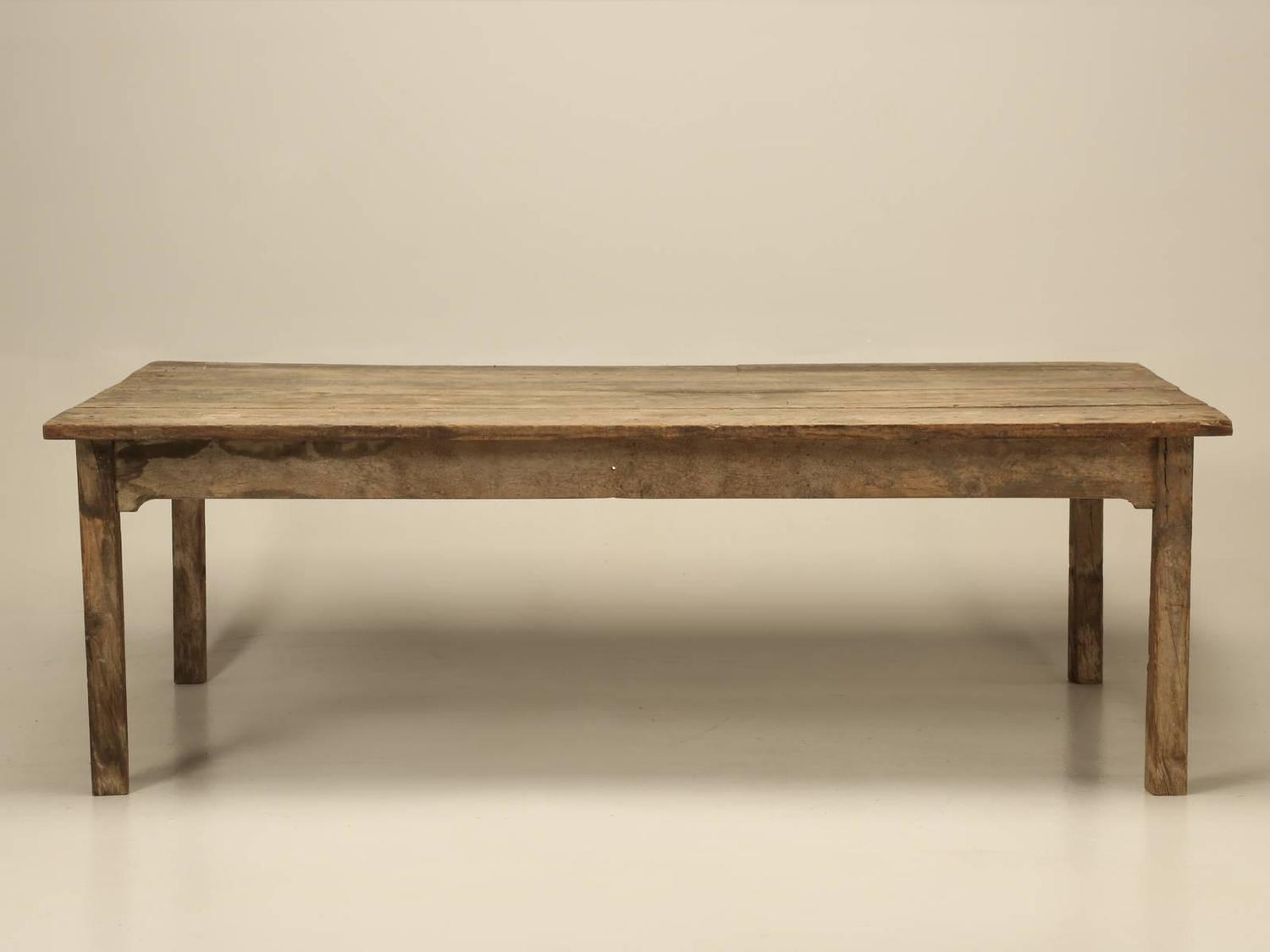 Antique Farm House Dining Table From France For 12 For