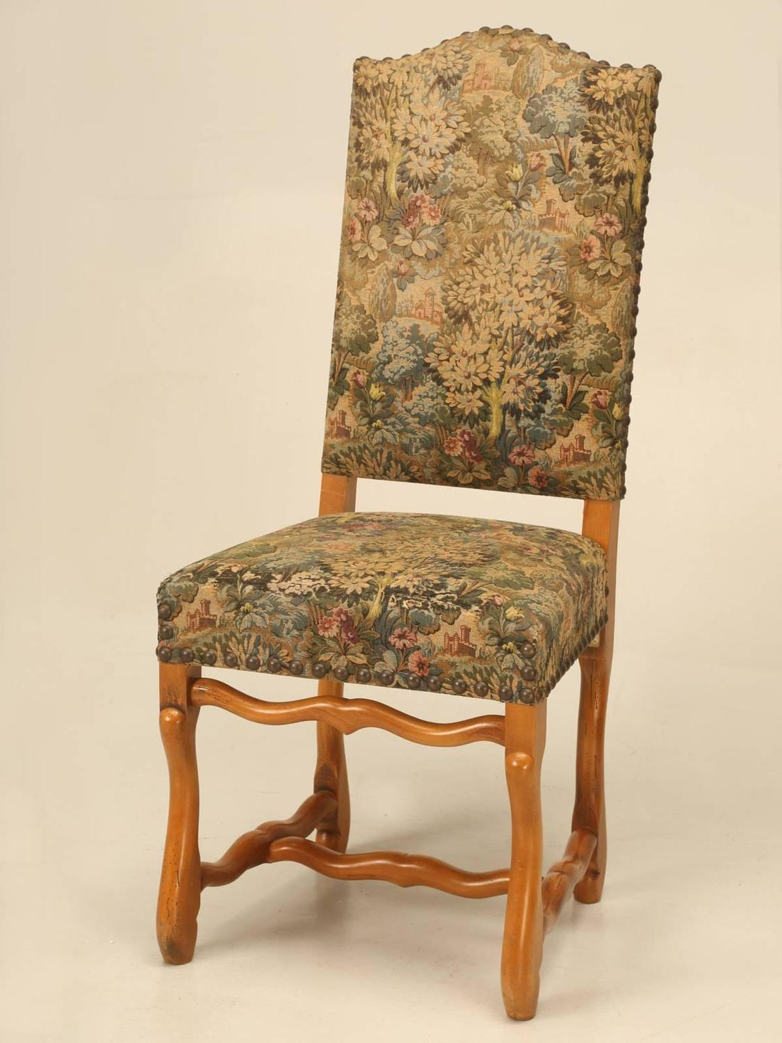 French Louis XIII Style Dining Chairs Set Of Ten For Sale At 1stdibs