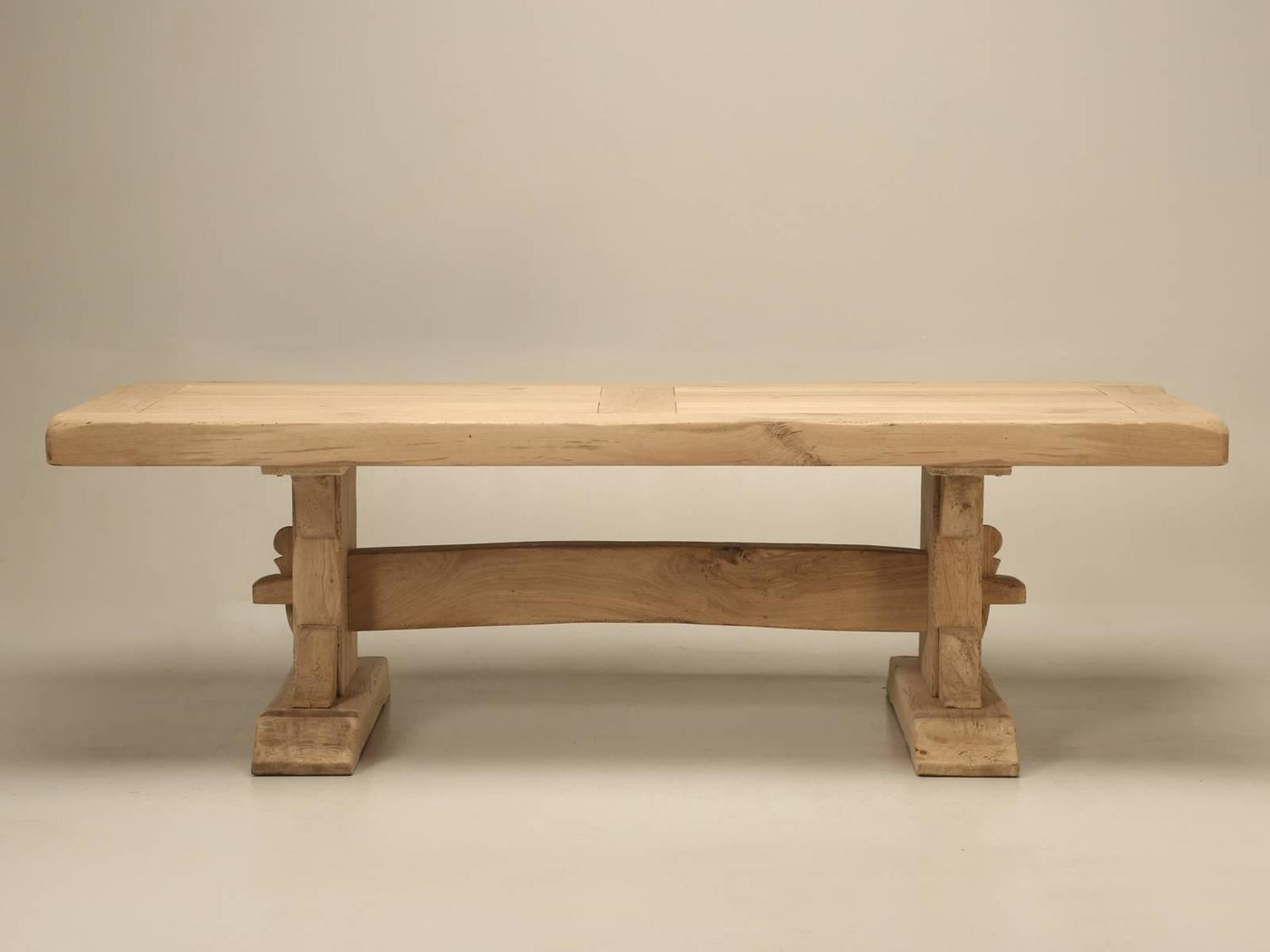 Antique french oak trestle dining table at 1stdibs - Antique french dining tables ...