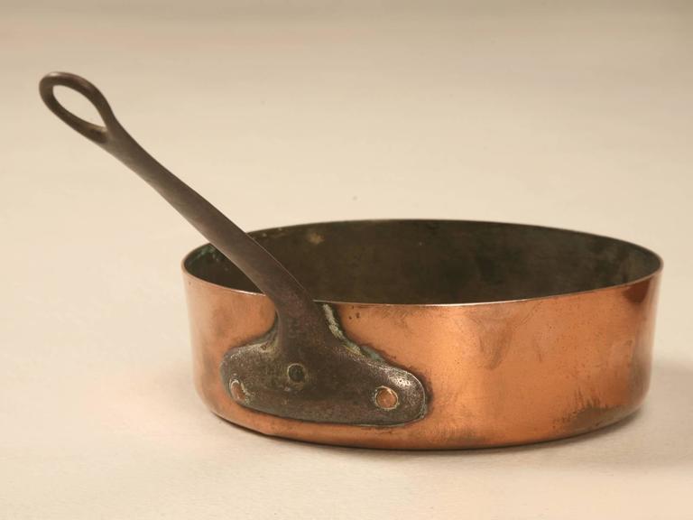 antique copper pots and pans