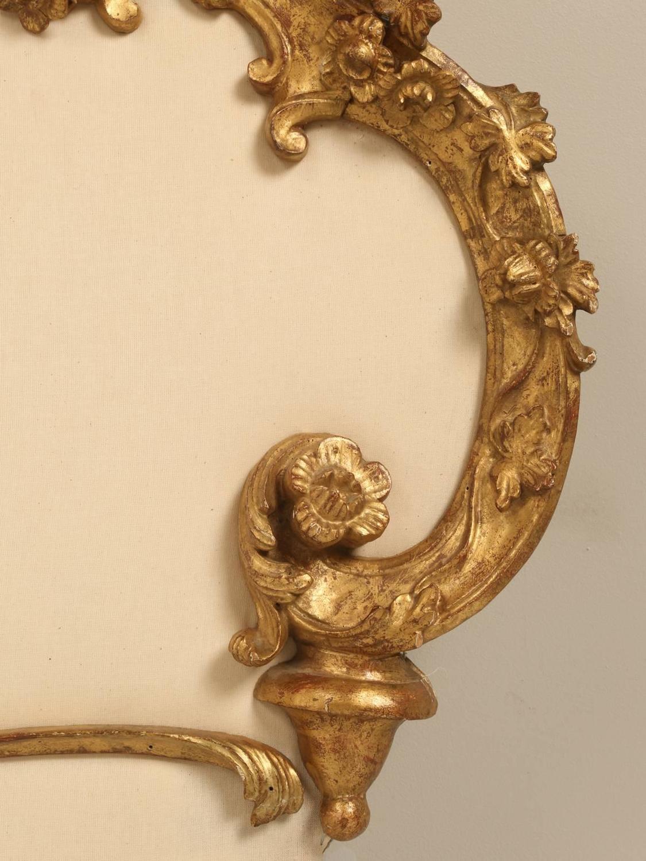 antique italian gilded king size headboard for sale at 1stdibs. Black Bedroom Furniture Sets. Home Design Ideas