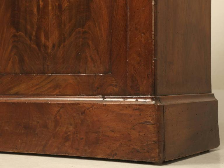 Antique French Louis Philippe Style Bookcase For Sale 4