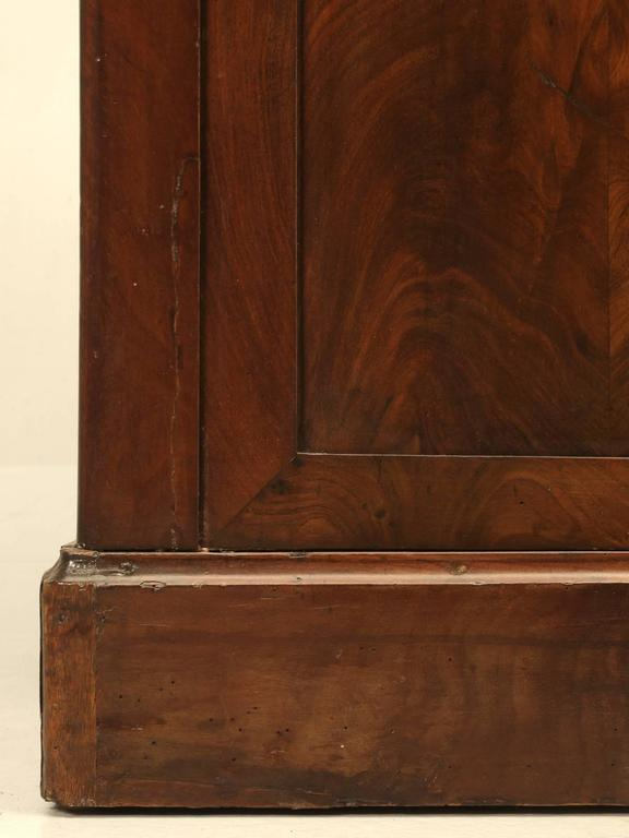 Antique French Louis Philippe Style Bookcase For Sale 3