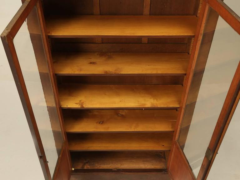 Antique French Louis Philippe Style Bookcase For Sale 5