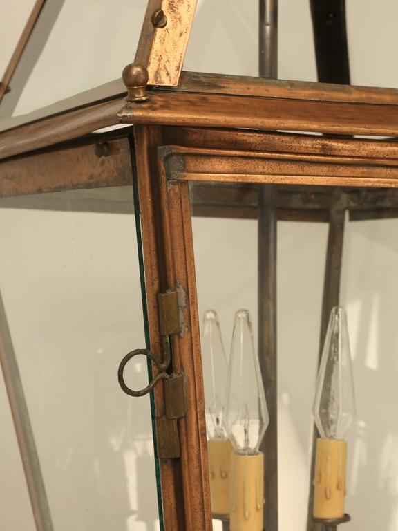 French Copper Lantern For Sale 3