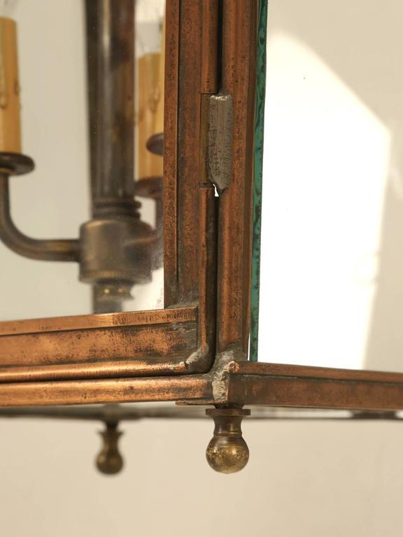 French Copper Lantern For Sale 4