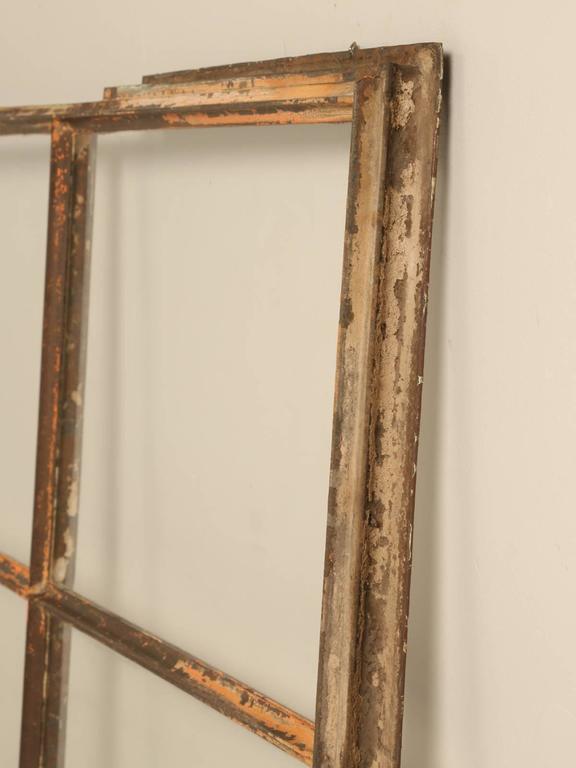 Industrial Antique American Steel Window For Sale