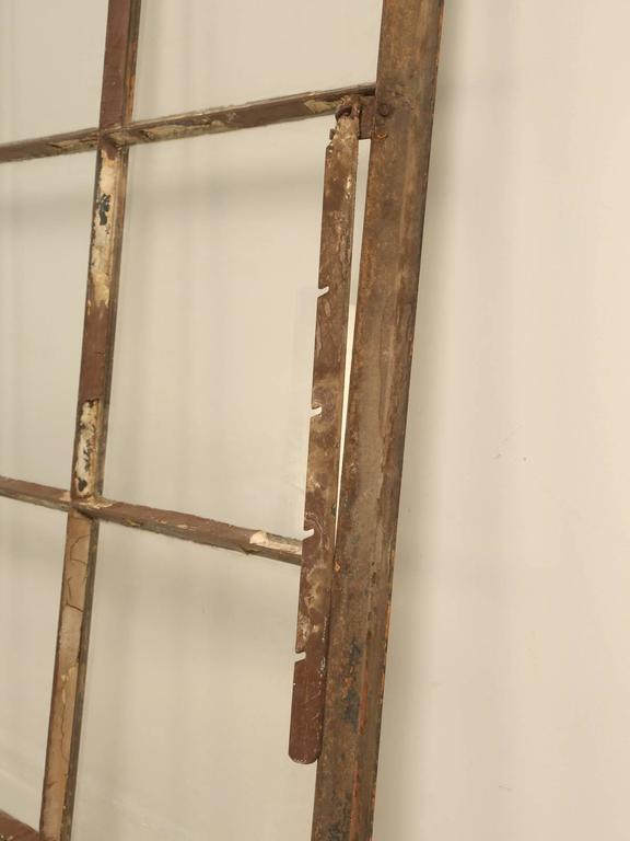 Antique American Steel Window For Sale 5