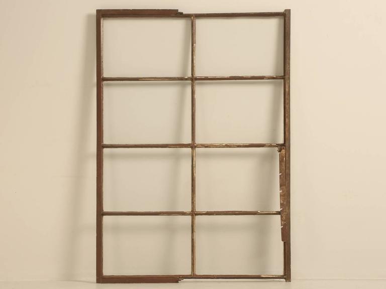 Antique American Steel Window For Sale 4