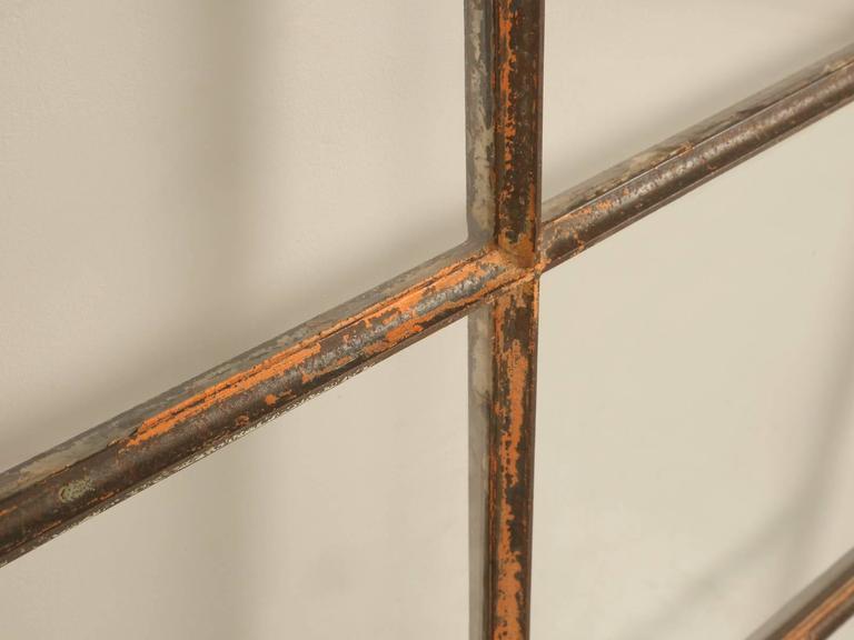 Antique American Steel Window For Sale 1