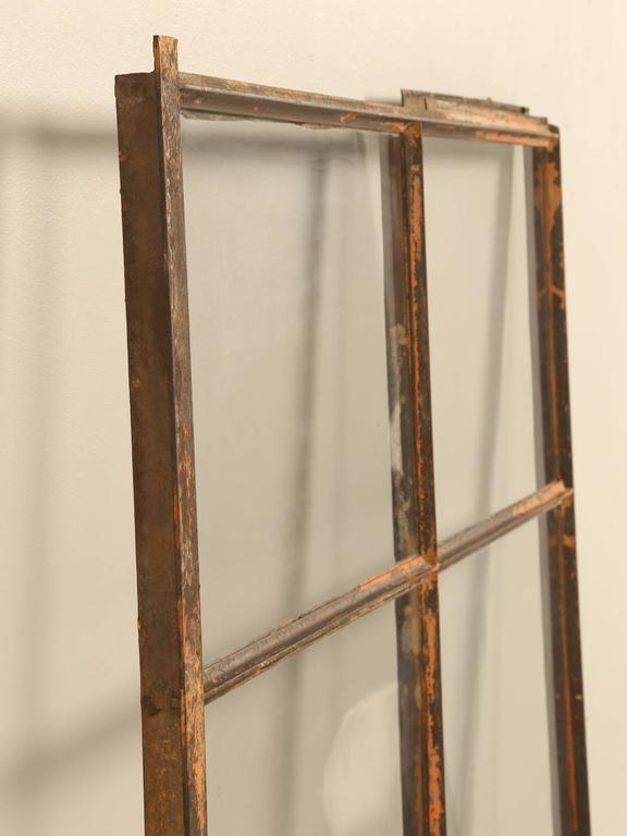 Antique American Steel Window In Fair Condition For Sale In Chicago, IL