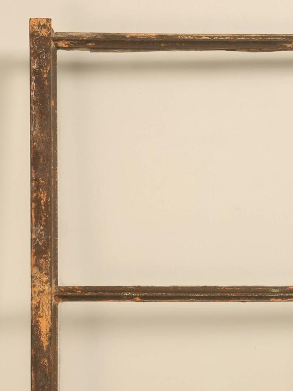 Early 20th Century Antique American Steel Window For Sale