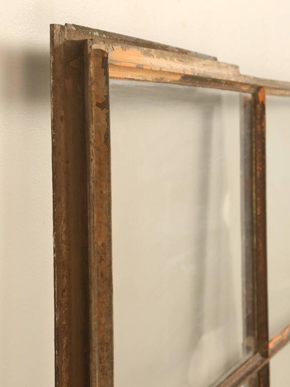 Antique Steel American Window In Fair Condition For Sale In Chicago, IL