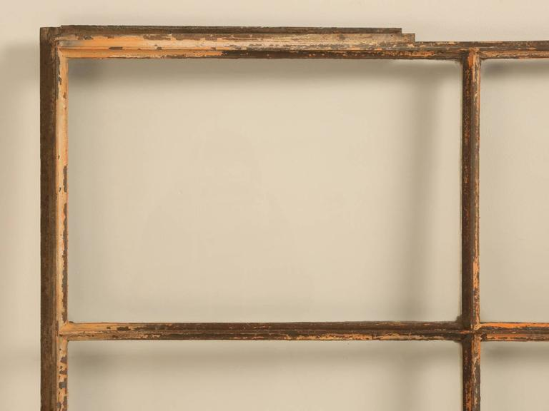 Early 20th Century Antique Steel American Window For Sale