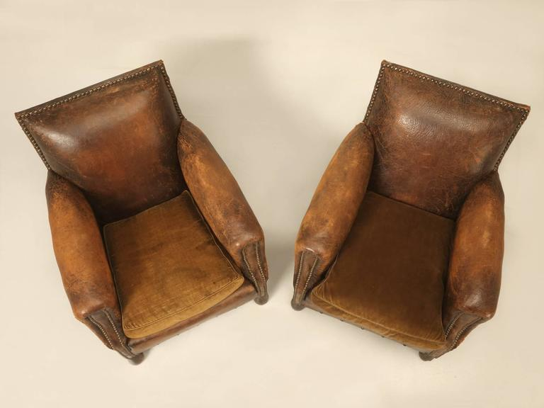 I Might Be Tempted To Call These, An Honest Pair Of Unmolested French Art  Deco