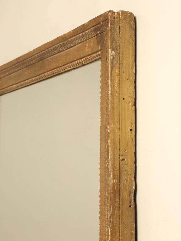French Louis XVI Gilded Mirror For Sale 6