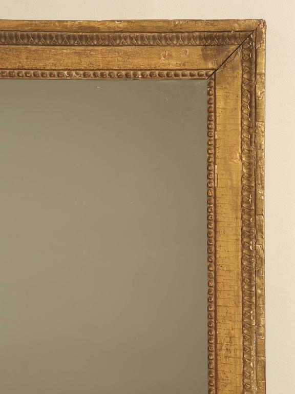 French Louis XVI Gilded Mirror For Sale 5
