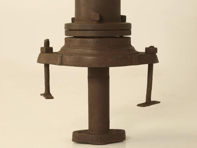 Antique French Water Fountain Pump or Garden Ornament For Sale 4