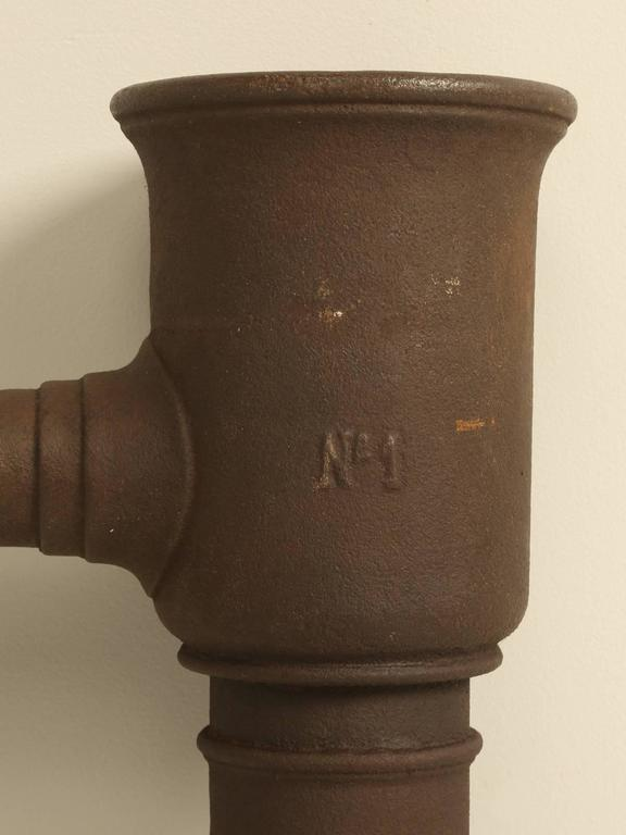 Country Antique French Garden Water Pump For Sale