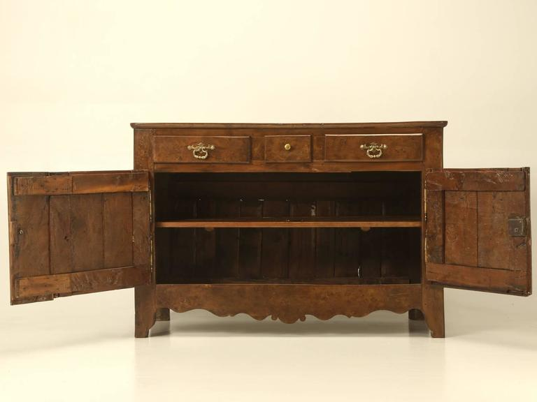 Antique french yew wood buffet circa for sale at stdibs