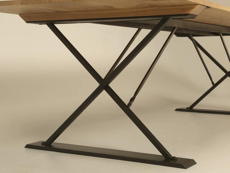 Industrial Style Dining Table For Sale 1