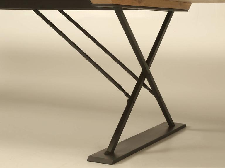 Industrial Style Dining Table For Sale 2