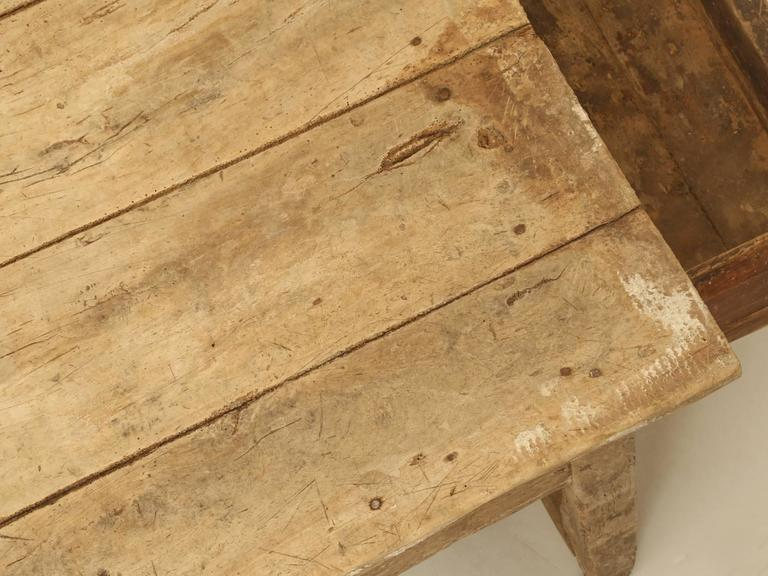 Early 18th Century Antique Country French Farmhouse Dining Table from the 1700s