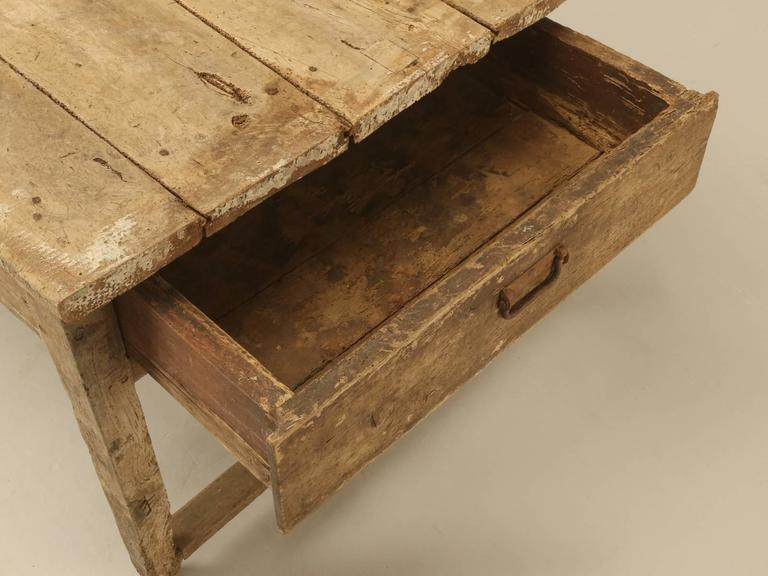 Antique Country French Farmhouse Dining Table from the 1700s 1