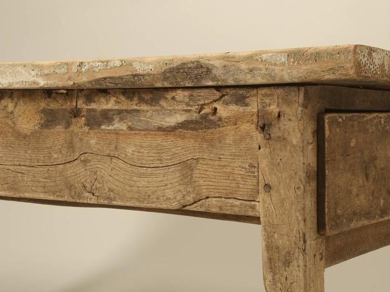 Antique Country French Farmhouse Dining Table from the 1700s 2