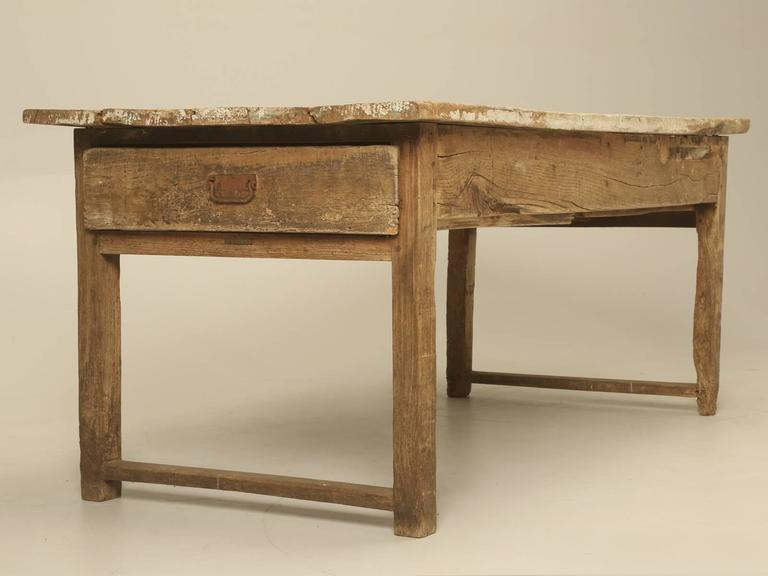 Antique Country French Farmhouse Dining Table from the 1700s 4