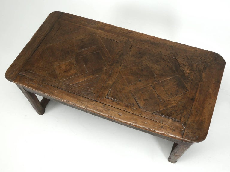 Antique French Farm Table with Drawer, circa 1700 2