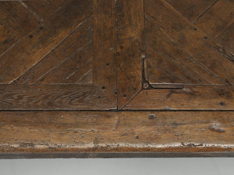 Antique French Farm Table with Drawer, circa 1700 5